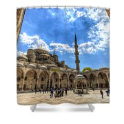 The Blue Mosque Istanbul Shower Curtain