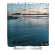 The Blues - Daybreak Seascape Shower Curtain