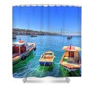 The Bosphorus Istanbul Shower Curtain