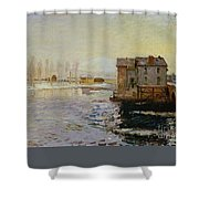 The Bridge Of Moret Shower Curtain
