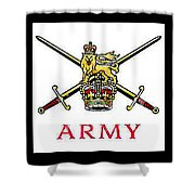 The British Army Shower Curtain