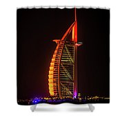 The Burj Al Arab Shower Curtain