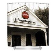 The Burnside General Store Shower Curtain by Scott Pellegrin