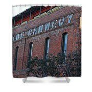 The Cannery Shower Curtain
