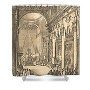 The Catafalque Of The Emperor Mathias Shower Curtain