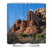 The Chapel Of The Holy Cross Shower Curtain