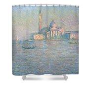 The Church Of San Giorgio Maggiore Shower Curtain