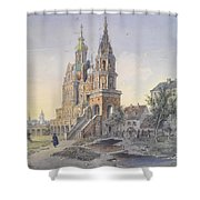 The Church Of The Dormition Shower Curtain