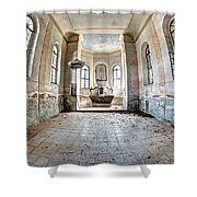 The Church Of The Exaltation Of The Holy Cross Shower Curtain
