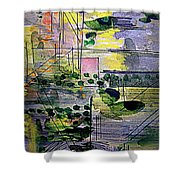 The City 2 Shower Curtain