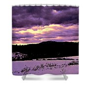 The Color Purple Shower Curtain