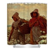 The Cotton Pickers Shower Curtain
