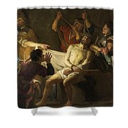 The Crowning With Thorns Of Jesus Shower Curtain
