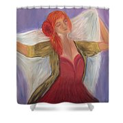The Dancer Shower Curtain