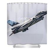 The Dark Falcon Shower Curtain