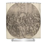 The Descent Of The Holy Spirit Shower Curtain