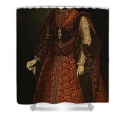 The Empress Isabel Of Portugal Shower Curtain