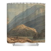 The Entrance Into Borrowdale Shower Curtain