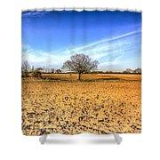 The Farm Tree Shower Curtain