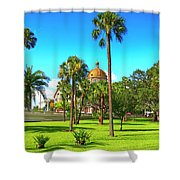 The First Baptist Church Of Tampa  Shower Curtain