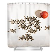 The Game Of Jacks Shower Curtain