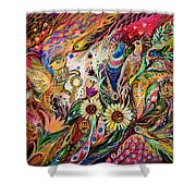 The Gestures Of Love Shower Curtain