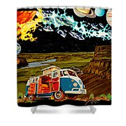 The Gorge-one Sweet World Shower Curtain