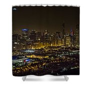 The Grateful Dead At Soldier Field Fare Thee Well Tour Aerial Photo Shower Curtain