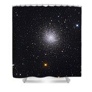 The Great Globular Cluster In Hercules Shower Curtain