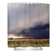 The Great Plains Shower Curtain