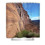 The Great Wall Shower Curtain