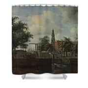 The Haarlem Lock Amsterdam Shower Curtain