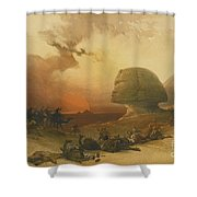 The Holy Land, Syria, Shower Curtain