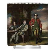 The Honorable Henry Fane With Inigo Jones And Charles Blair Shower Curtain