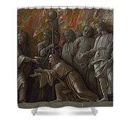 The Introduction Of The Cult Of Cybele At Rome Shower Curtain