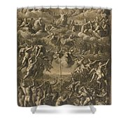 The Last Judgment Shower Curtain