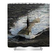 The Los Angeles-class Submarine Uss Shower Curtain