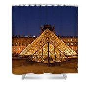 The Louvre Art Museum Shower Curtain