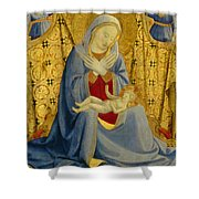 The Madonna Of Humility Shower Curtain