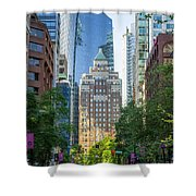 The Marine Building Shower Curtain