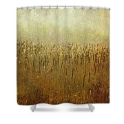 The Marsh Shower Curtain