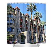 The Mission Inn  Shower Curtain