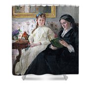 The Mother And Sister Of The Artist Shower Curtain