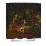 The Naming Of Saint John The Baptist Shower Curtain