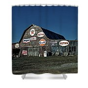 The Nostalgia Barn Shower Curtain