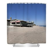 The Ocean Grill At Vero Beach In Florida Shower Curtain