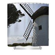 The Old Irish Windmill Shower Curtain