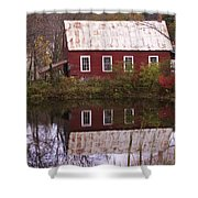 The Old Mill House Shower Curtain