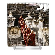 The Old Monastery Shower Curtain