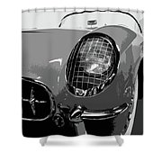 The Original Vette Shower Curtain